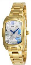 New Womens Invicta 23219 Baby Lupah Gold Tone Bracelet Watch