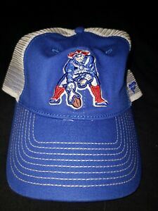 Vintage New England Patriots Fanatics Snapback Hat  OLD LOGO