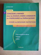 Concours d'entrée aides soignants et d'auxiliaires de puériculture /C5