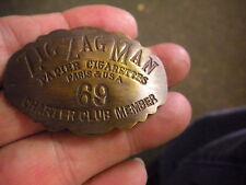 ZIG ZAG MAN CHARTER CLUB MEMBER BADGE NR 69
