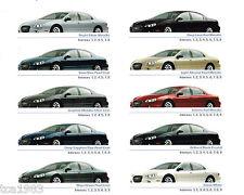 2004 Chrysler Concorde DEALER Catálogo / CATALOG con tabla de colores