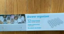 32 compartments easy drawer organizer real simple