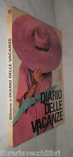 DIARIO DELLE VACANZE Per signorine Silvana Paoline 1966 Romanzo Racconto di e