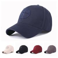 Men Women Stone Island Logo Baseball Hat Cap Adjustable Cap Hat Unisex Golf cap