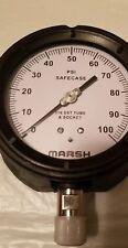 "Marsh / Bellofram 4-1/2"" Pressure Gauge"