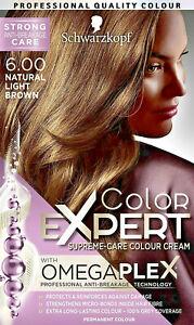 Schwarzkopf Colour Expert Omegaplex 6.0 Natural Light Brown permanent hairdye x1