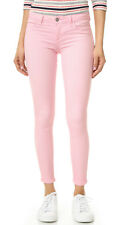SIWY Hannah Low Rise Skinny Pink Pastel Jeans Mock Pockets Stretch Size 28 NWT