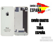 Tapa Trasera Cristal IPHONE 4S 100% ORIGINAL NUEVO Color Blanco