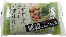 KONJAC Shirataki, shiratake pasta con Spinaci, konnyakumen hourensou, ishibashiy
