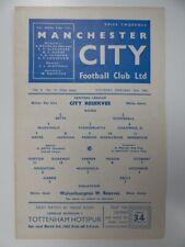 More details for manchester c v wolverhampton | 1961/1962 | reserves | 24 feb 1962 | uk freepost
