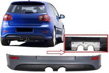 Rear Bumper Extension Sport VW Golf V 5 03-08 R32 Design Twin Exhaust Outlet