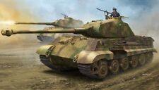 Hobby Boss King Tiger Porsche Turret Zimmerit Tank Armored Car 84530 1/35 Model