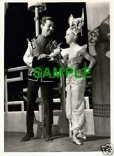 ORIGINAL PRESS PHOTO DES O'CONNOR PANTOMIME ALADDIN PALACE THEATRE MANCHESTER 65