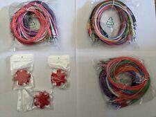 36 Eurorack Patch Cables + 3 Cable Splitters - 36 x 60 cm
