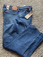 Levi's Men 514 Straight Regular Fit Blue Jeans Size 46x29  Sits Below Waist New