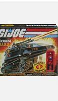 GI Joe Retro Cobra HISS Vehicle Tank  Exclusive With Figure New In Hand