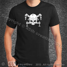 Crane Operator Crossbones T-Shirt Xl - boom outrigger crane hard hat tee t shirt