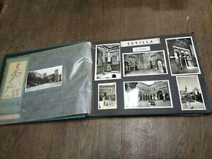 Ancien Album Photos,cartes postales, souvenir voyage ( E)