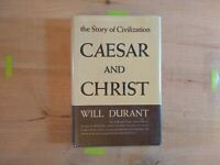Caesar and Christ - The Story of Civilization Part IIIby Will Durant (HC/DJ)