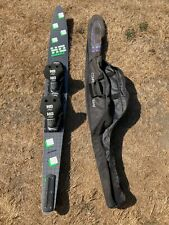 """HO MACH-1 GRAPHITE COMPETITION SLALOM WATER SKI 67"""",SIZE LARGE,COMP/FIN"""