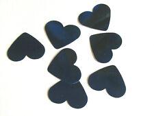 Blue Confetti Wedding Heart Table Bride & Groom pack 100