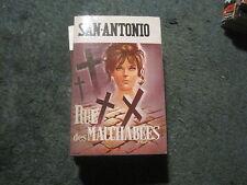 SAN ANTONIO 57: Rue des macchabées (réédition)