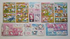 Hello Kitty Stickers Sheet 4x6'' (10x15cm)