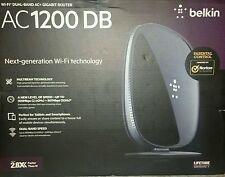 NEW Belkin AC 1200 DB Wi-Fi Dual-Band AC+ Gigabit Router F9K1113