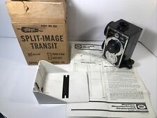 Original Vintage Hoppy Split Image Transit Surveying Tool 00414 79976 Model G2