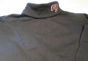 Tampa Bay Buccaneers Turtle Neck Shirt  Large Majestic Long Sleeve NFL