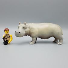 More details for safari hippopotamus 270429 african wildlife figure 1998 retired model rare