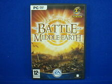 pc LORD OF THE RINGS The Battle For Middle Earth LOTR PC DVD Rom