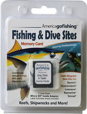 Levy, Dixie & Taylor Counties Fishing & Dive Sites Memory Card
