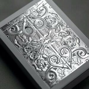 Gatorbacks Silver Playing Cards David Blaine New Sealed Rare