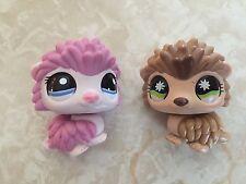 Littlest Pet Shop RARE Hedgehog Hedge Hog Porcupine #861 1711 Pink Lot