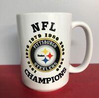 Pittsburgh Steelers Coffee Mug 15oz Super Bowl Championships NFL Champs