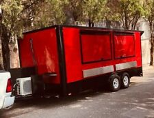 New Food Trailer 18' X 8' Fully Stainless Steel