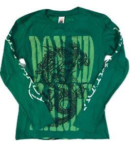 Ed Hardy Kids Unisex T-Shirt DRAGON Green Size Medium
