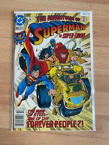 The Adventures Of Superman 495 Variant High Grade Comic Book  - B54-6