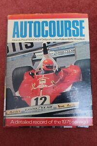Autocourse 1975 motorsport annual