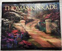 Thomas Kinkade Masterworks of Light Hardcover Book Coffee Table MINT Condition