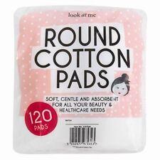 120 pezzi di cotone idrofilo ROUND PAD Morbido Assorbente Bellezza Trucco medico sanitario