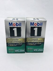 Lot Of 2 - Mobil 1 (M1C-254A) Extended Performance Oil Filter