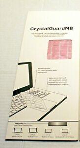 Crystal GuardMB Keyboard Protector for MacBook Pro 13.3  Pink
