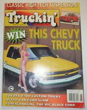 Truckin' Magazine Toyota T-100 Custom Trucks June 1993 041315R