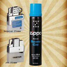 Feuerzeug Gaseinsatz Normal,Jet 1 o.2 Flammen slim mit & ohne original Zippo Gas