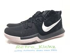852395 010 NIKE KYRIE III 3 BLACK WHITE SILT RED BASKETBALL SHOES SIZE 12 ba1dc5bb3