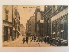 cpa 71 Macon - rue Sigorgne animée