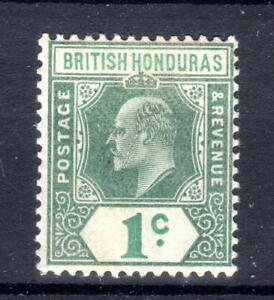 British Honduras KEDVII 1 cent  cca  1902-4 mmint  [B0321]