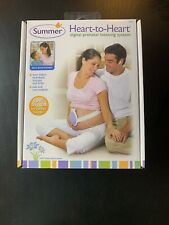 Summer Heart-to-Heart Digital Prenatal Listening System Baby Monitoring Euc Fs